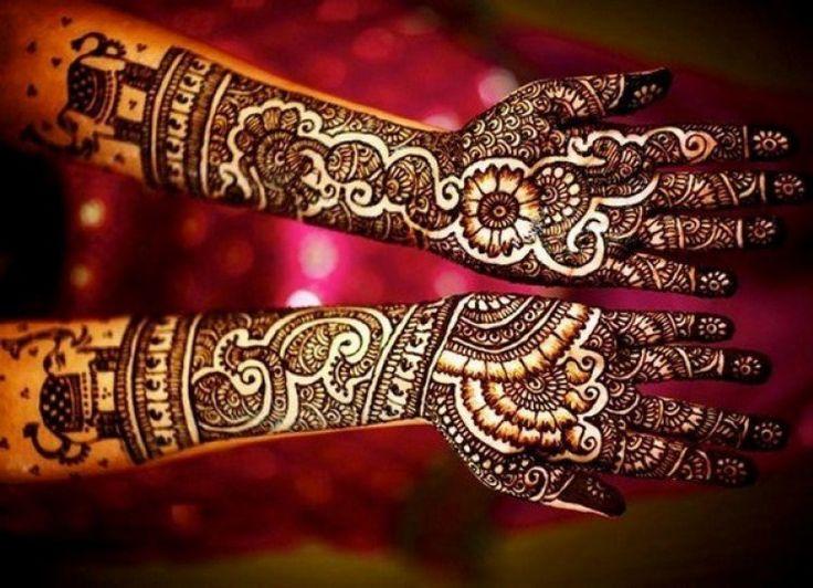 Modern Mehndi Designs for Wedding