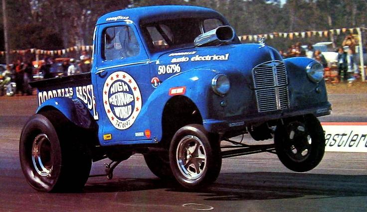 'Goodall's Gasser' - Aussie AA/G Austin A40 ute - from the 70's