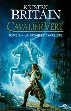 Couverture de Cavalier vert, Tome 2 : La Première cavalière