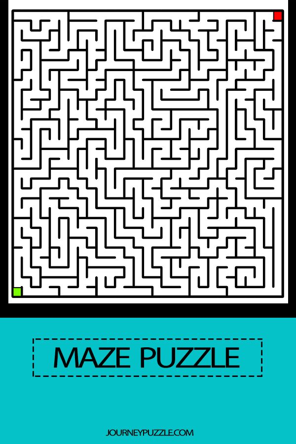 Maze Puzzle 1 Kids Activity Maze Puzzles Mazes For Kids Maze Book Maze worksheets for year olds
