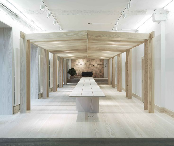 A Merry Mishap: Dinesen showroom