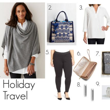 Plus-size Travel Outfit Inspiration For The Holiday Season. #airplane #travel | PLVSH Blog ...