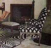 chair: Baldwin Decor, Black And White, Interiors Design, Beautiful Interiors, Black White, White Decor, Billy Baldwin, White Interiors, Baldwin Design