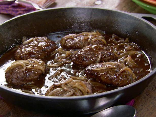 images of pianeer woman hamberg recipes   Pioneer Woman Salisbury Steak Recipe Made this and ...   Recipes - Yu ...