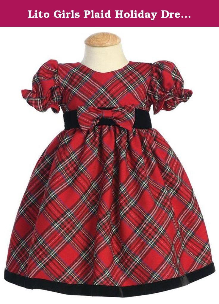 Lito Girls Plaid Holiday Dress with Velvet Trim (2T, Red). In 1973, Tom and Jenny Lee entered the children's wear business on a friend's suggestion by opening a retail clothing store in Long Beach, CA. The store specialized in dressy infant and toddler apparel, a segment of the children's clothing industry that the Lees thought was being largely ignored by retailers. The Lees themselves were experiencing difficulty finding holiday and special occasion outfits for their then-toddler son…