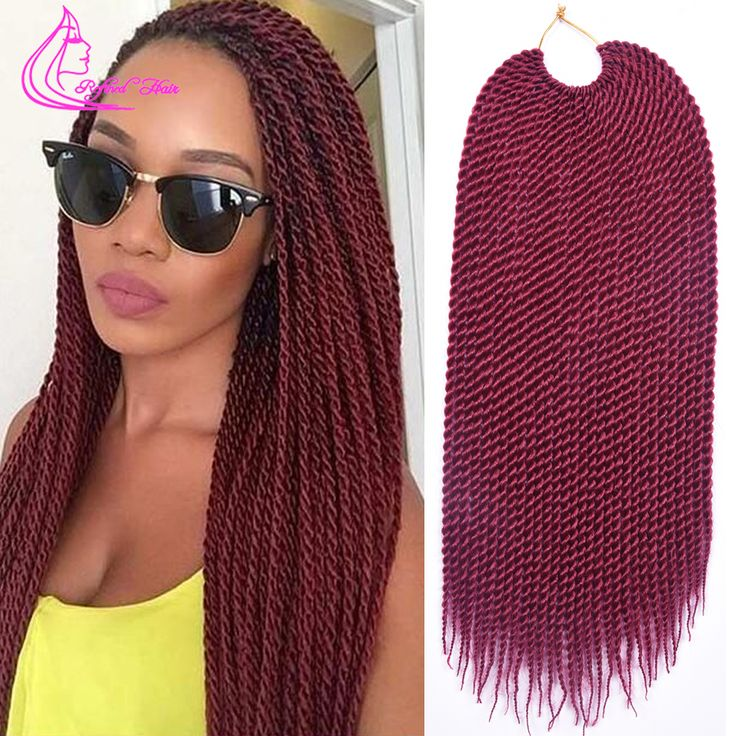 """Hair Extension 2  18"""" 30 Strands 75g/pack Best Quality Crotchet Braids Ombre Kanekalon Braiding Hair Crochet Braids Box Braids Hair Extensions *** AliExpress Affiliate's Pin. Locate the offer simply by clicking the VISIT button"""
