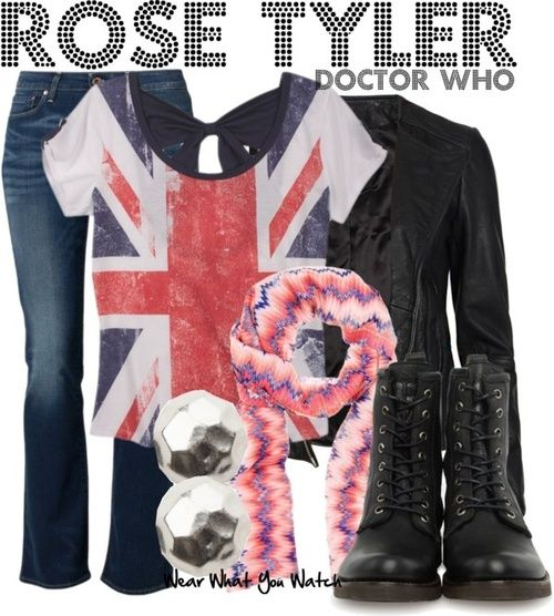 Rose Tyler halloween outfit