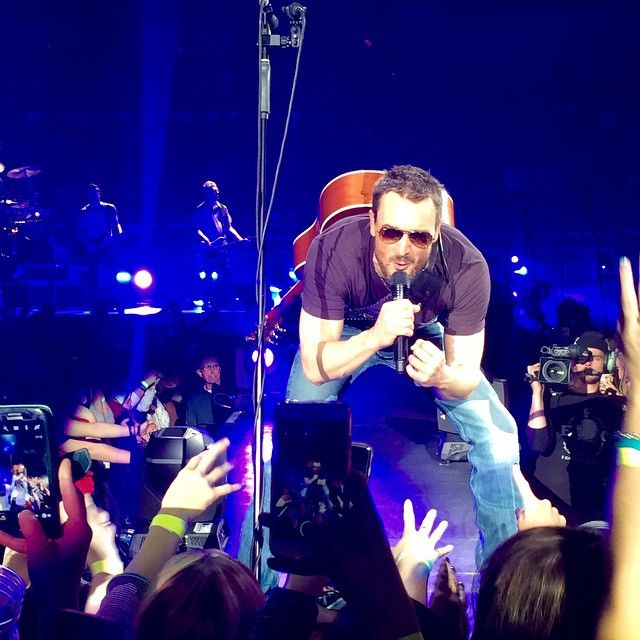 Eric Church: The Outsiders World Tour With Special Guest Halestorm - Spokane Veterans Memorial Arena - Spokane, WA on 1/29/2015 - 225 photos, pictures and videos on CrowdAlbum