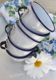 52 FLEA: February 2011 child enamelware cups