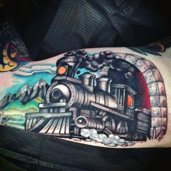1000 ideas about train tattoo on pinterest tattoo for Sacred addition tattoo east bridgewater ma