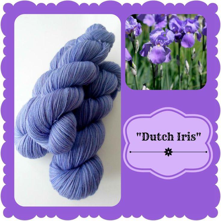 Dutch Iris - Dutch Flowers   Red Riding Hood Yarns