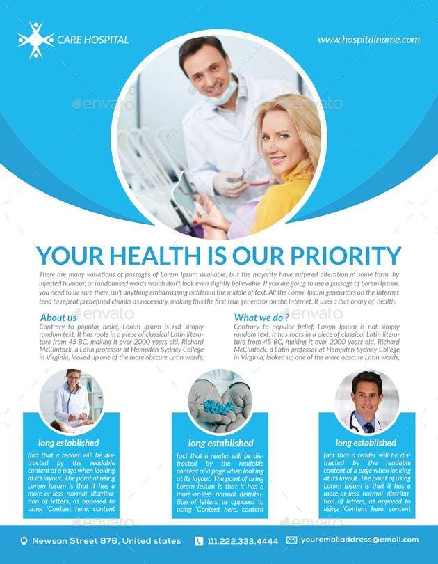 Health Care Flyer Templates Free Kesehatan