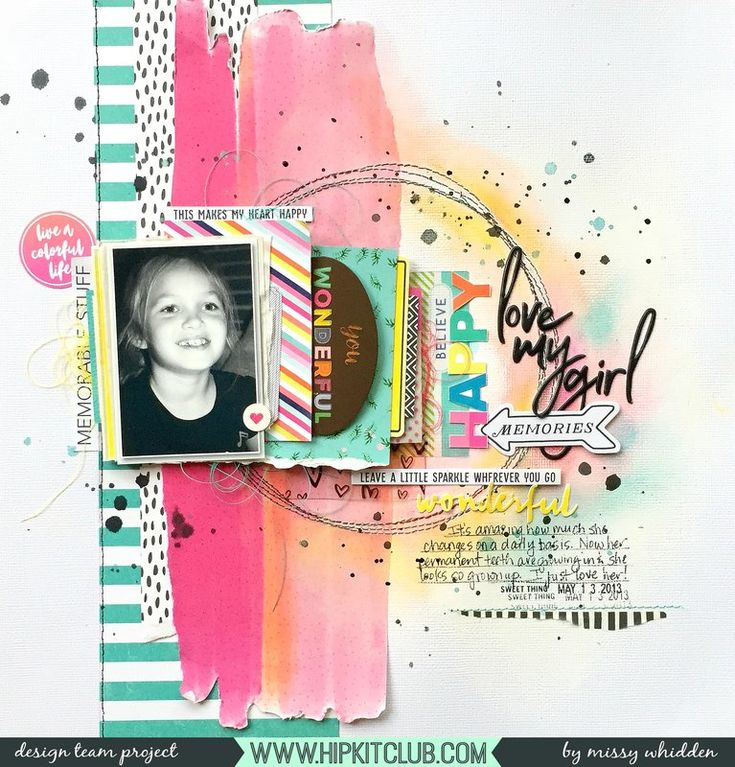 Hip Kit Club DT Project - 2017 April Hip Kits; Crate Paper, Pinkfresh Studio, Pink Paislee Paige Evans, American Crafts Vicki Boutin, exclusive Hip Kit cut aparts & Project Life cards