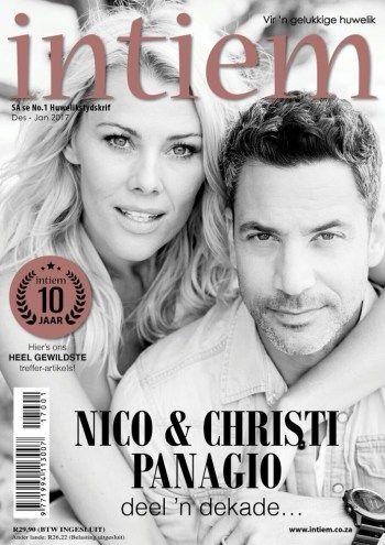 #MagLove 25 November 2016 — the best magazine covers this week — Intiem, December January 2017: Christi and Nico Panagio.