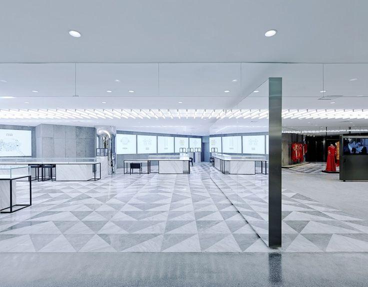 CLOU architects jiuxi wedding exhibition beijing designboom