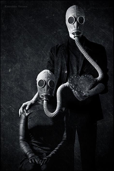 Inspiração do dia: Gas mask