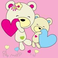 vector illustration cartoon bear toy animals