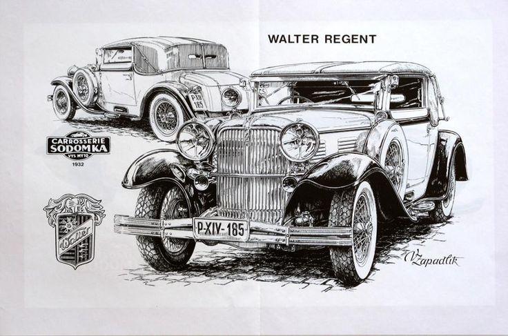 Walter Regent   Classic Европейския кола