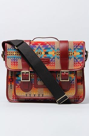 Doc Martens x Pendleton messenger bag