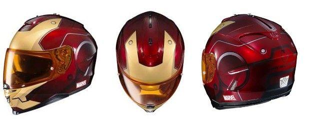 Heróis da Marvel inspiram capacetes para motociclistas - Mais 40 Bem Cuidado