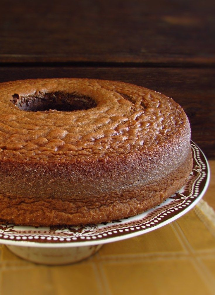 Chocolate milk cake | Food From Portugal. Try this chocolate milk cake recipe, it's creamy, fluffy and delicious. Excellent to serve with a hot cup of coffee. Bon appetit!!!