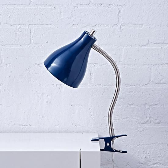 Hold On Clip Lamp (Blue)  | The Land of Nod