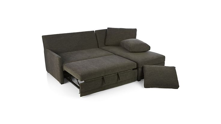 lounger sofa with pull out trundle sleeper mattress sizes best 25+ sectional ideas on pinterest ...