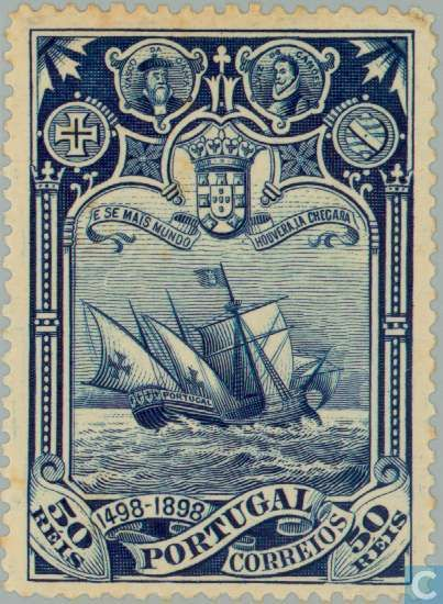 Portugal [PRT] - Discovery of sea route to India 1898