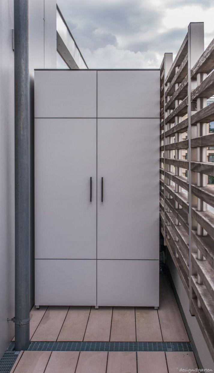 Balkonschrank House Styles Space Decor Tall Cabinet Storage