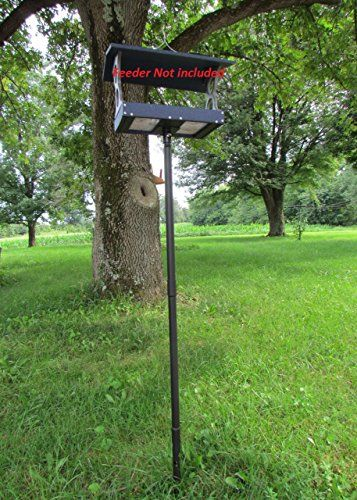 Universal Mounting Pole Kit Perfect for Bird House Bird Feeder and Fly Thru Feeders