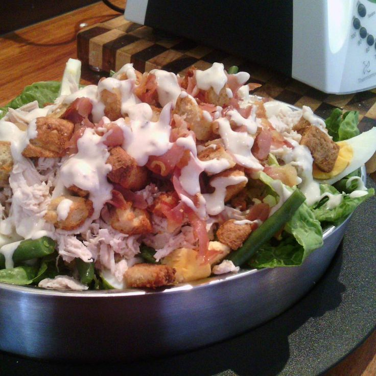 Recipe Steamed Chicken Caesar Salad Yummy Style by shannon macdonald - Recipe of category Main dishes - others