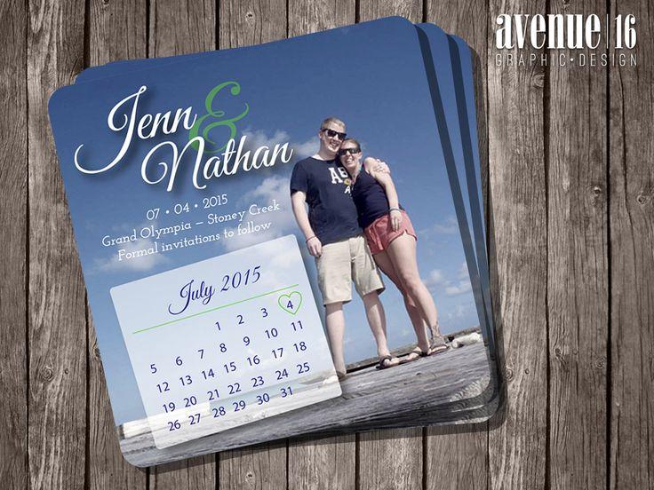 Save the Date | Jenn & Nathan | Avenue16
