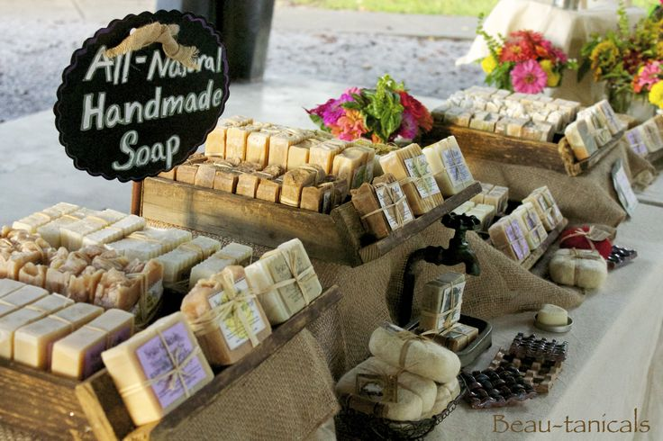 Beau-tanicals all-natural, bath products.
