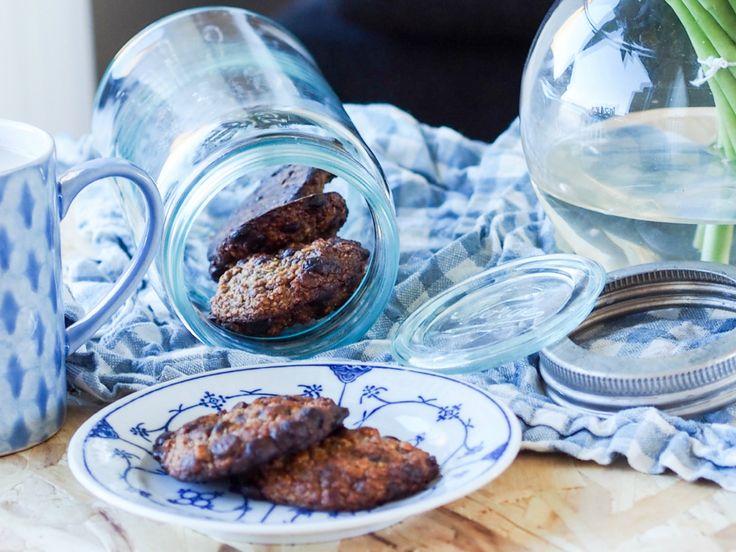 Myke sjokoladecookies; søte, sunne og uten helsekostprodukter - Fitfocuse