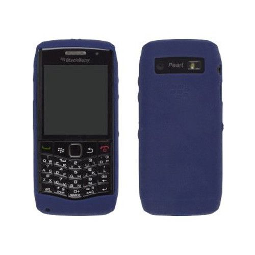 OEM Blackberry Pearl 9100 3G Silicone Skin Case (Dark Blue)