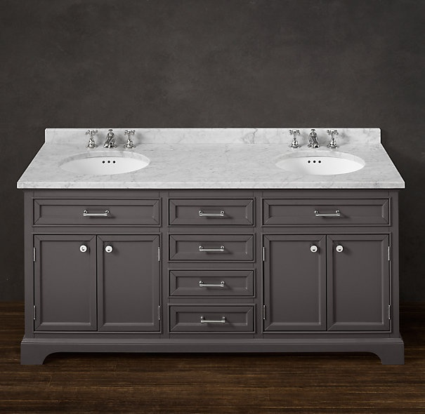 Kent Double Vanity Sink From Restoration Hardware