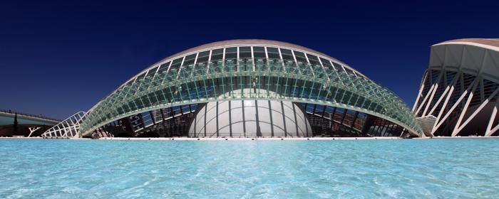 The Hemisferic Oceanografic, Valencia, Spain