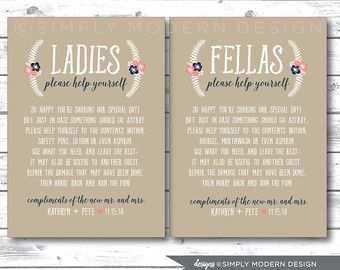 Bathroom Signs Wedding top 25+ best wedding bathroom signs ideas on pinterest | wedding