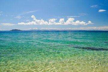 The Mediterranean sea is located in Cyprus, Crete, Euboea, Rhodes, Lesbos, Chios, Kefalonia, Corfu, Limnos, Samos, Naxos and Andros in the eastern Mediterranean; Sardinia, Corsica, Sicily, Cres, Krk, Brač, Hvar, Pag, Korčula and Malta in the central Mediterranean; and Ibiza, Majorca and Minorca in the western Mediterranean.