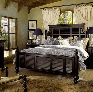 Tommy Bahama Bedroom Sets | Tommy Bahama Home Kingstown Malabar Panel  Bedroom Sets By Lexington .