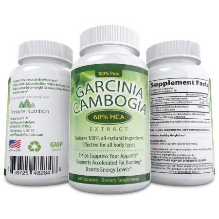 premium potent garcinia cambogia extract pure