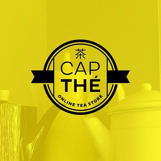 #tandemlogos #tea #shop #cap #the #yellow #logo  #lovelogo  #logodesigns our #projects  #identity #graphic #design #gastronomy #food #teastore #instalogo