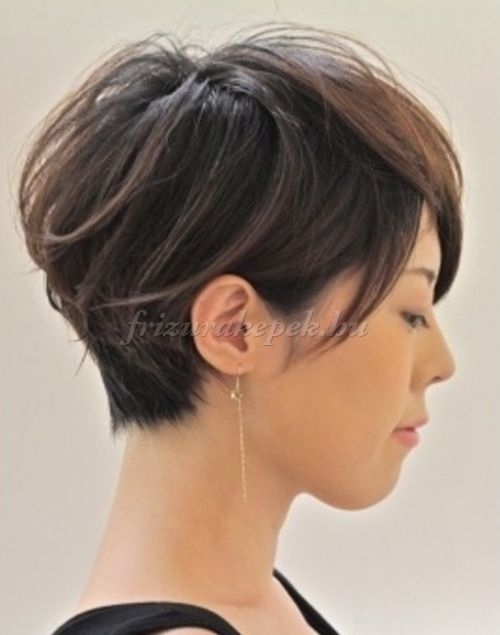 pixie frizurák, rövid frizurák - pixie frizura
