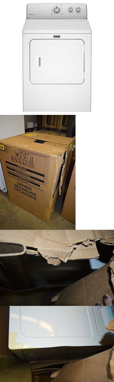 Dryers 71254: Maytag Mgdc215ew 29 White Gas Dryer Nob T2 #15362 -> BUY IT NOW ONLY: $399 on eBay!