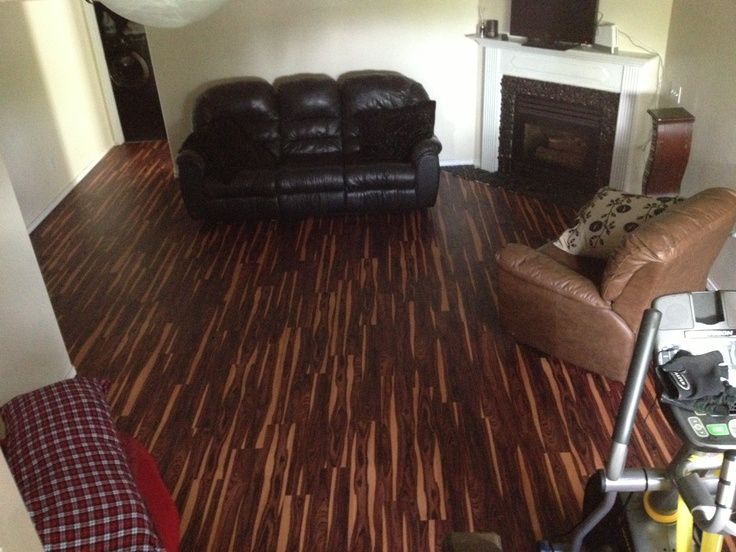 10 images about kitchen flooring on pinterest dark for Dark wood vinyl flooring