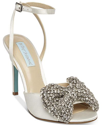 45fae850f8e Blue by Betsey Johnson Heidi Bow Pumps