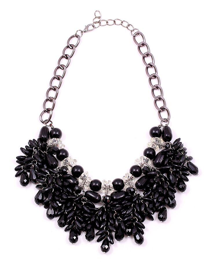 black necklace www.mischa.ro