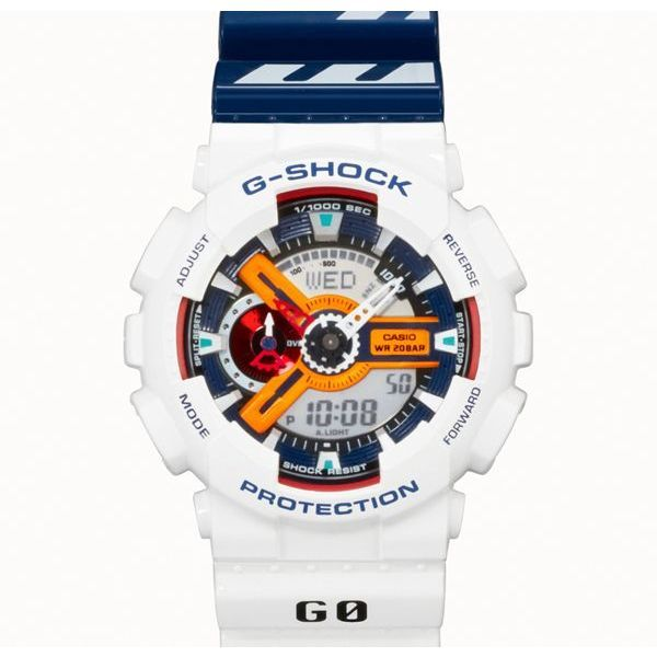 Should look good on my wrist!  Neon Genesis Evangelion x G-Shock Rei Ayanami Plug Suit GA-110PS-7AJR  Retail : USD217