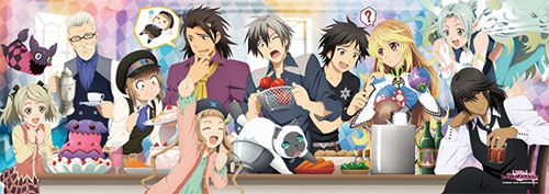 AmiAmi [Character & Hobby Shop] | Jigsaw Puzzle - Tales of Xillia 2: Cooking Together!? 352pcs (352-82)(Back-order)