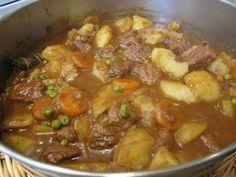 Guisado de Carne de Ternera con Patatas - Recetízate